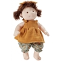 Byastrup - Docka Hannah Junior 42 Cm Poly-Cotton Vit/Gul