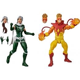Marvel - Characters X-Men Pyro & Rogue Grön/Gul 10-Piece