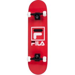 Fila - Skateboard Logo 20 X 79 Cm Abec 7 Wood Röd