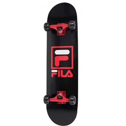 Fila - Skateboard Logo 79 X 20 Cm Abec 7 Wood Svart