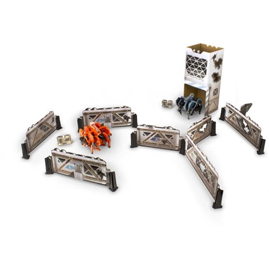 Hexbug - Avatar Vogelspin With Battle Arena Blå/Röd 2 Pieces