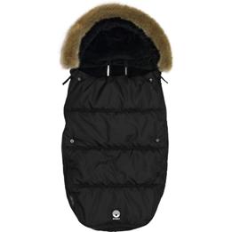 Dooky - Åkpåse Furry 98 X 50 Cm Svart