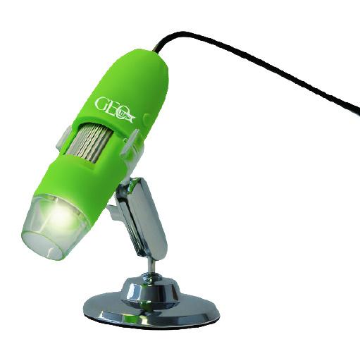 GEO Kids Geo Kids - Digital Microscope 29.5 X 24.5 Cm Grön