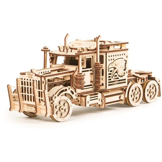 Wood Trick - Modellbygge Big Rig Truck 485 Delar