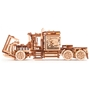 Wood Trick - Model Kit Big Rig Truck 37.5 Cm Wood 485-Piece