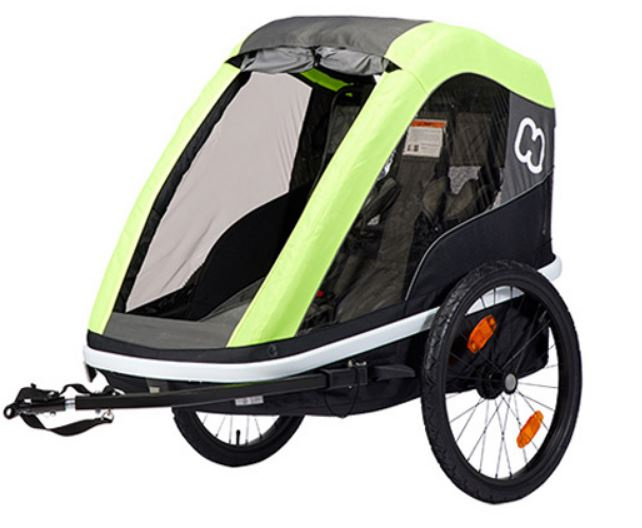 Hamax - Cykelvagn - Avenida One 20 Tum Lime