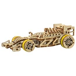 Wooden City - Modelleksak Racerbil 108 Delar