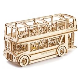 Wooden City - Modelleksak London Buss 216 Delar