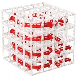 Designnest - Bollbana - Magnetisk Röd 127 Delar