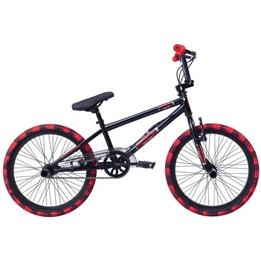 Rock - BMX Cykel - Freestyle 20 Tum Junior Svart/Röd