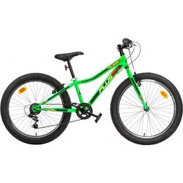 Aurelia - Barncykel - Plus 24 Tum 6 Växlar Grön