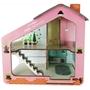 Mamatoyz - Dockskåp Casa Girls 65 X 50 Cm Wood Rosa
