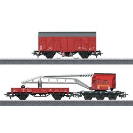 Marklin - Kranvagn Brandweer 32,5 Cm 1:87 Steel Röd
