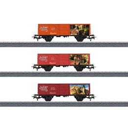 Marklin - Tåg Vagnset Jim Knoop 1:87 Röd