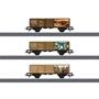 Marklin - Wagon Set Jim Knoop 11,5 Cm Digital 1:87 Steel Brun
