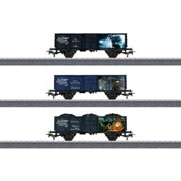 Marklin - Tåg Vagnset Jim Knoop Digital 1:87 Blå