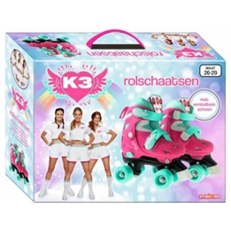 Studio 100 - Rollerblades K3 Dromen Girls Rosa/MintGrön