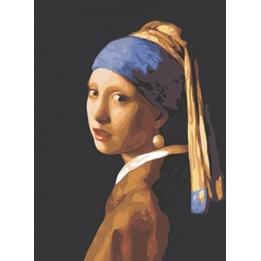 Best Pause - Schilderen Op Nummer Girl With A Pearl Earring 50 Cm Canvas