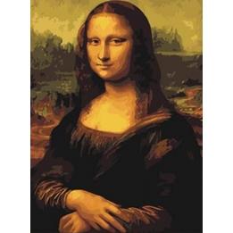Best Pause - Schilderen Op Nummer Mona Lisa 50 Cm Canvas/Acrylic