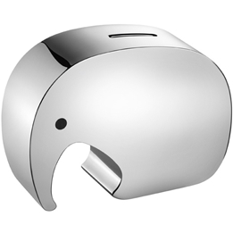 Georg Jensen - Spargris Elefant Stainless Steel Silver