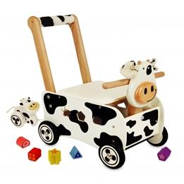 Im Toy - Gåvagn Och Sorteringslåda Ko