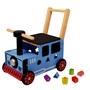 Im Toy - Rubber Wood Train Loopduwwagen
