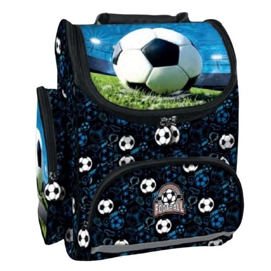 Championship Football - Backpack Boys 37 X 27 Cm Textile Svart
