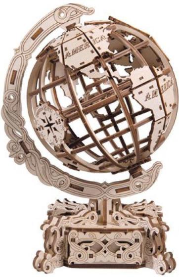 Mr PlayWood Mr Playwood - Model Kit Globe 25.5 X 18 Cm Wood 231 Pcs