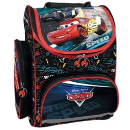 Disney - Ryggsäcks Set - Cars Junior 15 Liter 35 Cm Polyester Svart/Röd