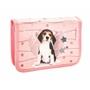 Belmil - Ryggsäcks Set - Lovely Beagle 17 Liter Polyester Rosa 4 Delar