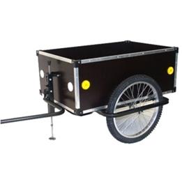 Roland - Cykelvagn / Lastvagn - Jumbo Cykelvagn / Lastvagnvagn 175L 20 Tum Svart