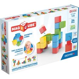 Geomag - Building Kit Magicube Junior Neomydium 24 Pcs