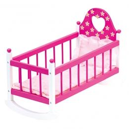 Bino - Doll'S Cradle Girls 57 X 29 X 26 Cm Wood Rosa 2-Parts