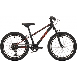 Bike Fun - Barncykel - The Beast 20 Tum 6 Växlar Svart/Röd