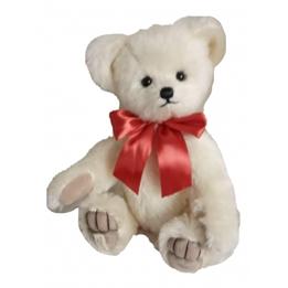 Deans - Teddybjörn Bella Limited Edition 40 Cm Mohair Vit