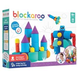 Blockaroo - Foam Blocks Junior Rubber Play Set 35 Pcs