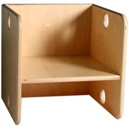 Van Dijk Toys - Stol Fyrkantig 35 Cm