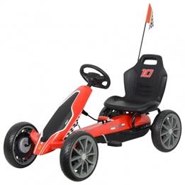 Amigo - Go Kart - Gokart Junior Röd/Svart
