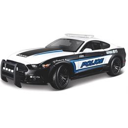 Maisto - Bil Ford Mustang Gt Polica Usa 25 Cm Svart