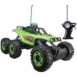 Maisto - Radiostyrd Bil Monster Truck Rock Crawler Grön/Svart