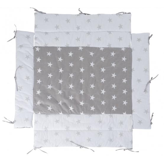 Roba - Lekmatta Little Stars 96 X 18 Cm Grå