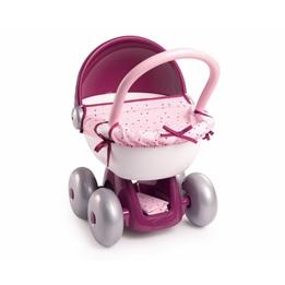 Smoby - Dockvagn Baby Nurse Rosa/Lila