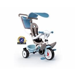 Smoby - Trehjuling - Baby Balade Plus Junior Blå/Grå
