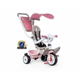 Smoby - Trehjuling - Baby Balade Plus Junior Rosa/Beige