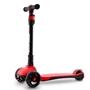 Sports Active - 3-Wheel Kids Scooter 60 X 30 Cm Aluminium Röd/Svart