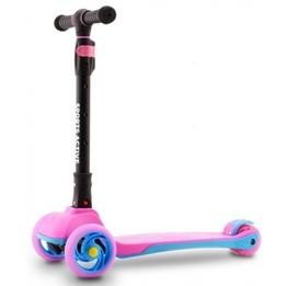 Sports Active - Skoter 3 Hjul Rosa/Svart