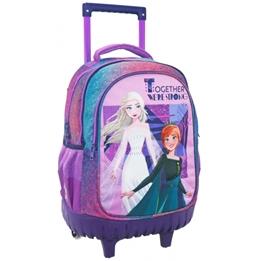 Disney - Resväska/Ryggsäck - Frozen Girls 45 Cm Polyester Lila