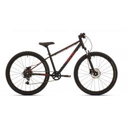 Bike Fun - Barncykel - The Beast 24 Tum 6 Växlar Svart/Röd