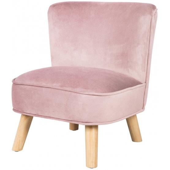 Roba - Soffa I Sammet Rosa