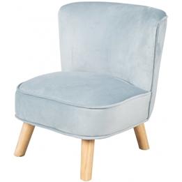 Roba - Soffa I Sammet 50 Cm Blå